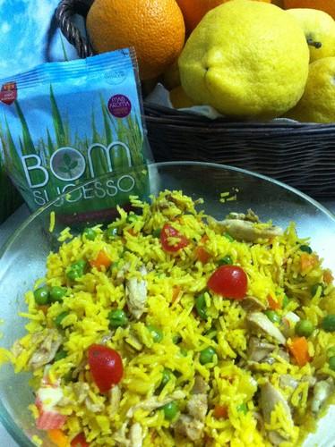 Salada de arroz aromático Bom Sucesso