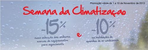 Climatização até 15% desconto | EL CORTE INGLÉS |, de 1 a 10 novembro
