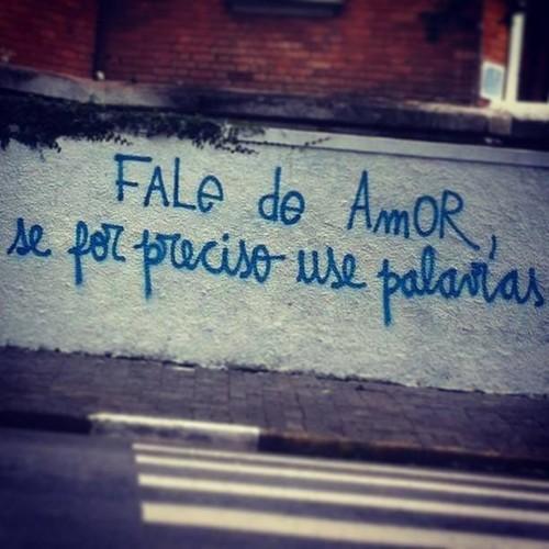Fale de amor