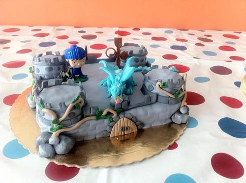 Festa Mike Cavaleiro - o bolo