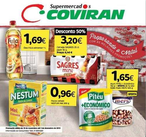 Novos Folhetos | COVIRAN | de 19 novembro a 1 dezembro