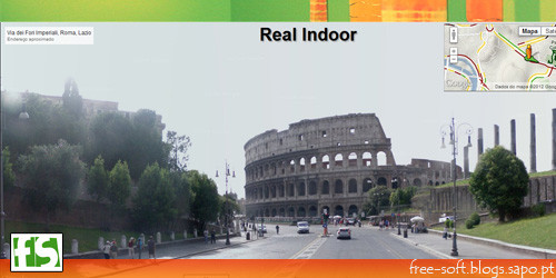 real indoor - google street view