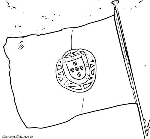 portugal, sem cor, bandeira nacional