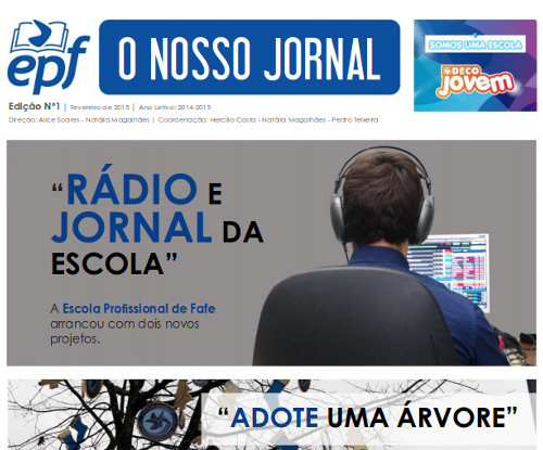 Jornal Escolar Fafe