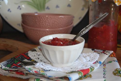 Concentrado de tomate caseiro