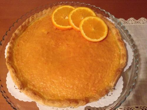 Tarte de laranja