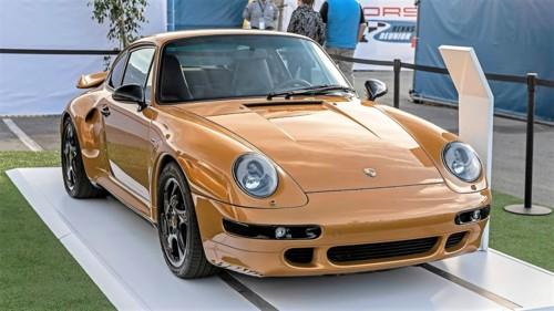 Rennsport Reunion VI Porsche 911 Turbo Classic Ser