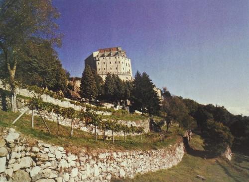 Piemonte italiano.Quinta no Vale de Susa, na Sacra