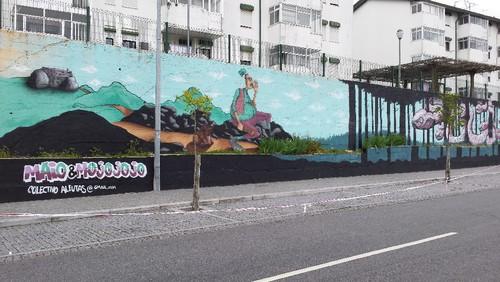 Bicha grafiti fafe