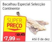 Super Preço | CONTINENTE | Bacalhau especail seleção continente