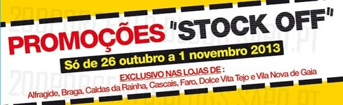Antevisão - Stock Off | STAPLES | de 26 Outubro a 1 Novembro