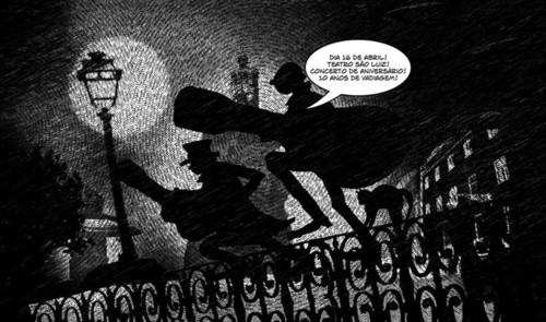 Banda desenhada do Dead Combo