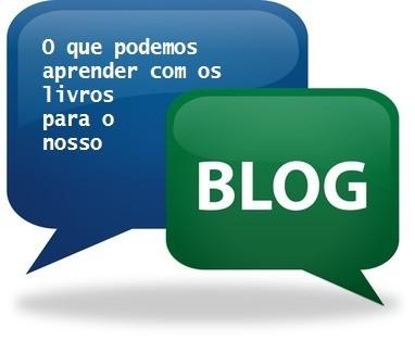 O que podemos aprender com os livros para o nosso blog!