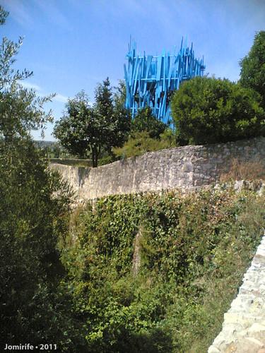 Torre de vigia no castelo de Montemor-o-Velho