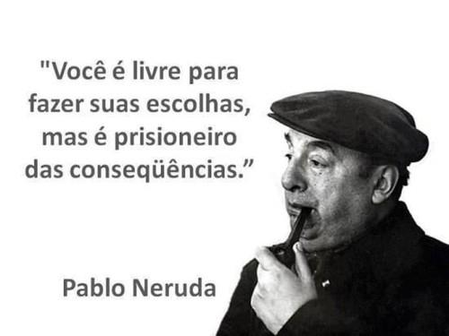 Neruda, escolhas