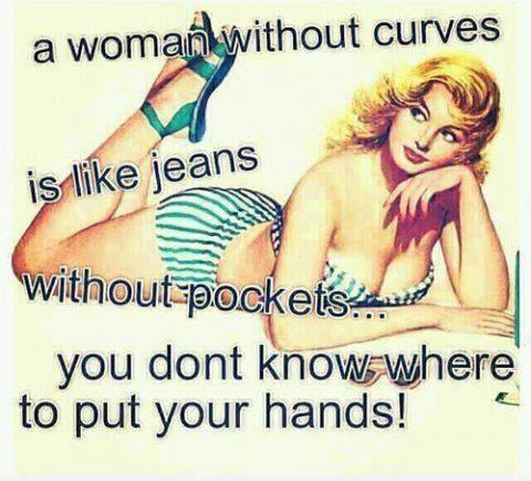 Mulher sem curvas
