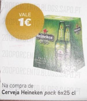 Acumulação 25% + Vale | PINGO DOCE | Heineken, de 3 a 9 dezembro