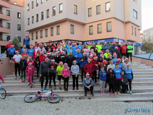 Foto dos atletas da Corrida de Natal 2013 na Figueira da Foz organizado pelo grupo Run@Figueira [en] Christmas Run 2013 in Figueira da Foz, Coimbra, Portugal