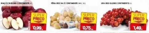 super preço frutas