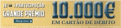 10.000€ em cartão | SALSA | concurso