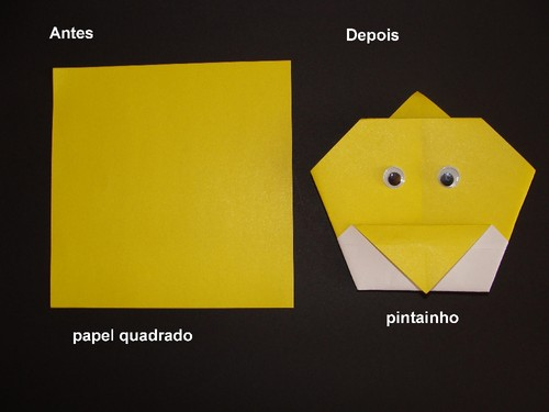 origami pintainho
