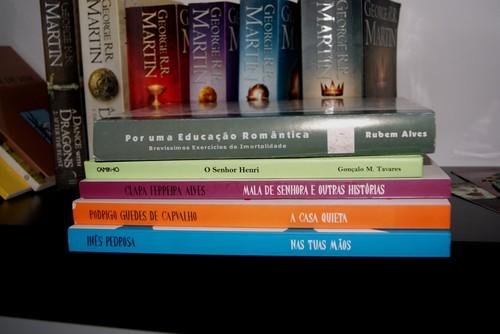 livros oferecidos pelo chico