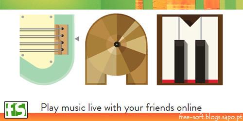 JAM - Desenvolver música com os amigos