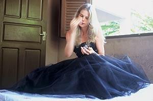 A noiva de preto