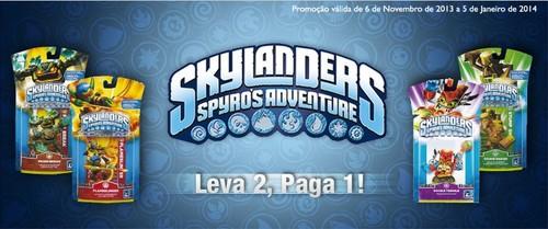 Leva 2 Paga 1 | EL CORTE INGLÉS | Skylanders, até 5 janeiro