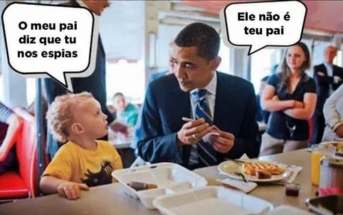 Obama e a espionagem