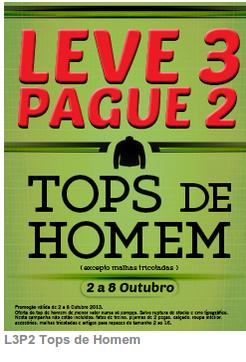 Promoções Pingo Doce - New Code - Leve 3 Pague 2, de 2 a 8 Outubro