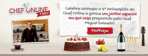Aniversário Chef Online | PASSATEMPO |