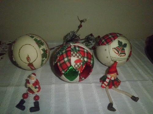 Bolas para enfeites de Natal e não só.