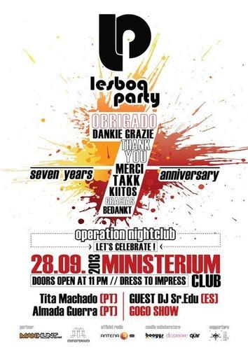 Lesboa Party_Cartaz 7º aniversário