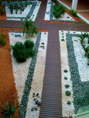 Jardim Zen no interior do CAE - Centro de Artes e Espectáculos da Figueira da Foz (1) [EN] Zen Garden inside the CAE - Center for Performing Arts in Figueira da Foz
