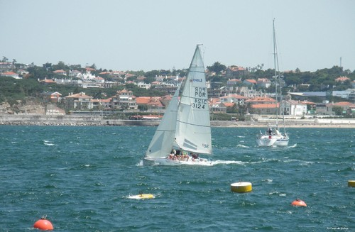 Cascais - Barcos no tejo - O canto do nelson