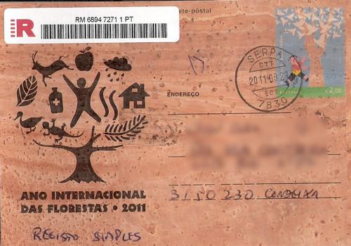 inteiro postal florestas