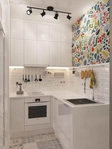 Cozinha de reduzidas dimensões, Primeira Casa da