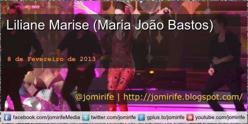 Blog Post: Liliane Marise (Maria João Bastos)