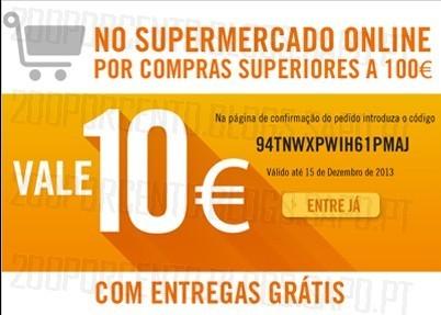Desconto 10€ + Oferta Portes | EL CORTE INGLÉS | até 15 dezembro