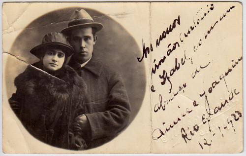 Tios bisavós Aimée e Joaquim