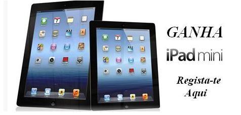 Ganha um iPad todas as semanas