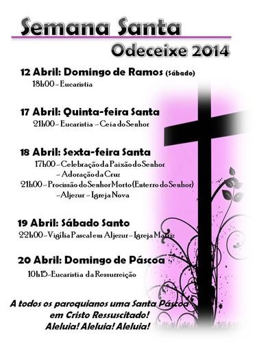 Celebrações Semana Santa 2014