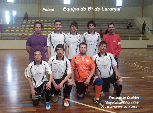 Equipa de Futsal do Bairro do Laranjal /Alcácer do sal.