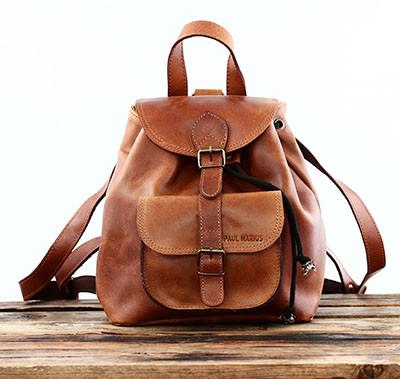 mochila de couro para senhora