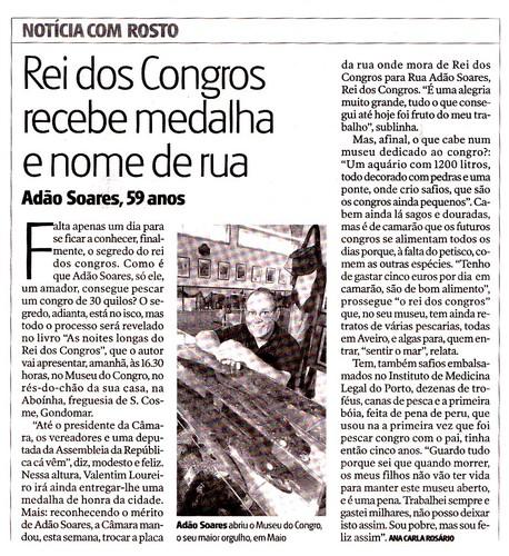 Adão Soares no JN