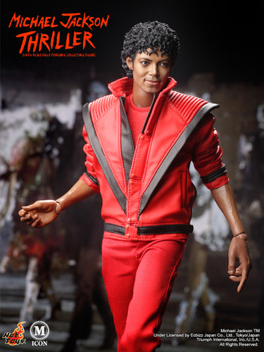 Michael Jackson em Thriller