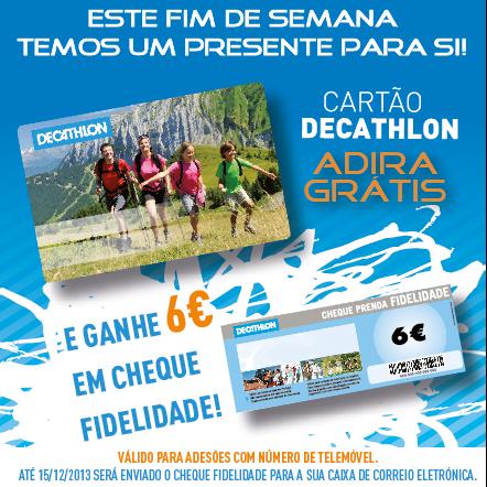 Oferta de 6€ | DECATHLON | este fim de semana