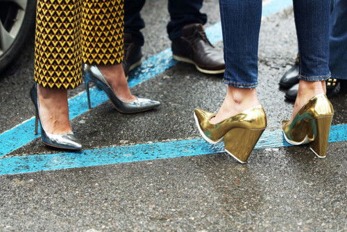 fashion-street-style-metallic-shoes-celine-fashion