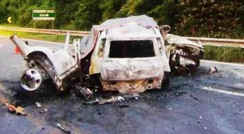 Acidente deixou sete mortos na BR 386 Crédito: PRF / Divulgação / CP